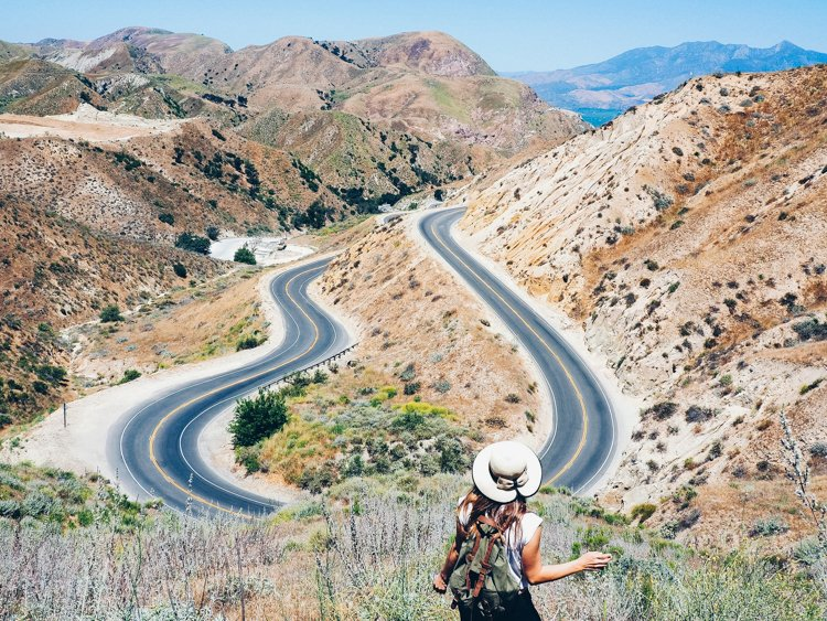 Grimes Canyon - How to Take Amazing Photos of Yourself when Traveling Solo