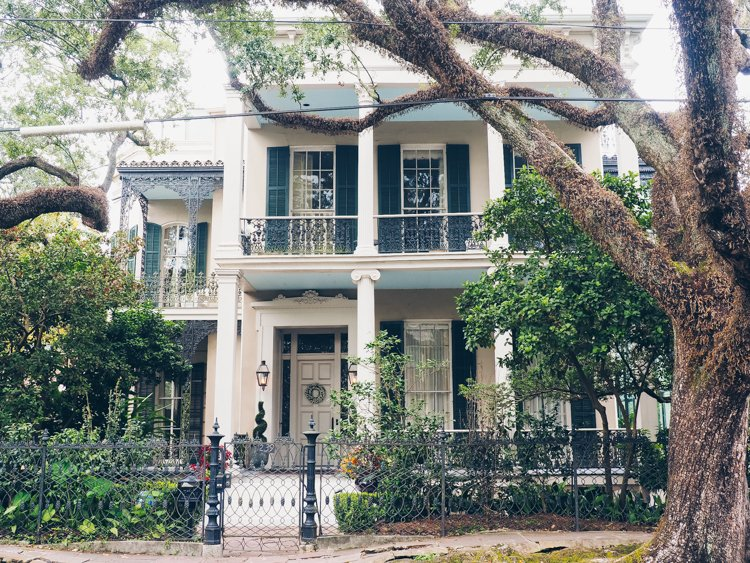 Anne Rice House - Garden District - Visiting New Orleans