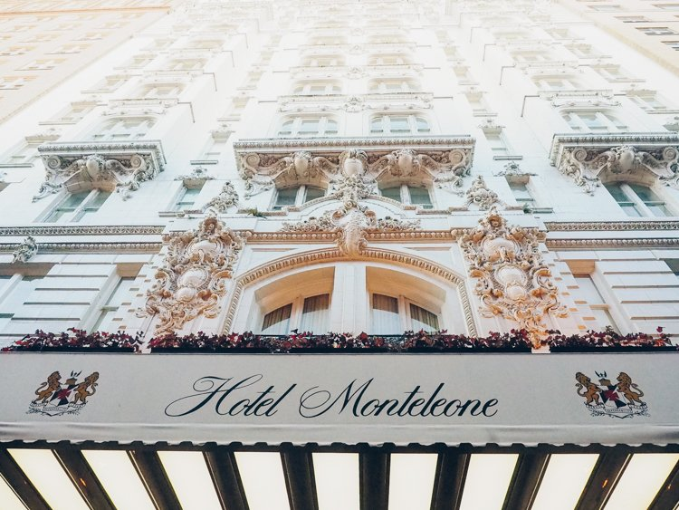 New Orleans photography - Hotel Monteleone