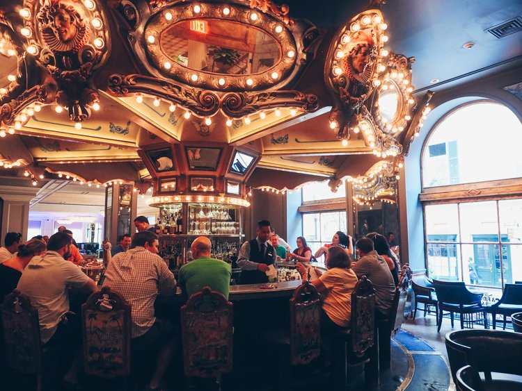 Carousel Bar and Lounge - Hotel Monteleone - The French Quarter - Visiting New Orleans