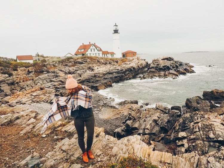Portland Head Lighthouse, Maine - Where to go in Maine