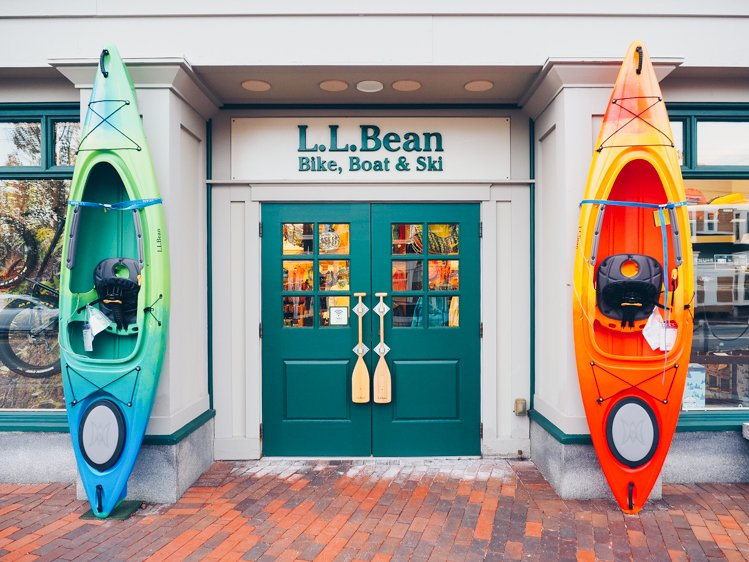 L.L. Bean Freeport, Maine - Where to go in Maine