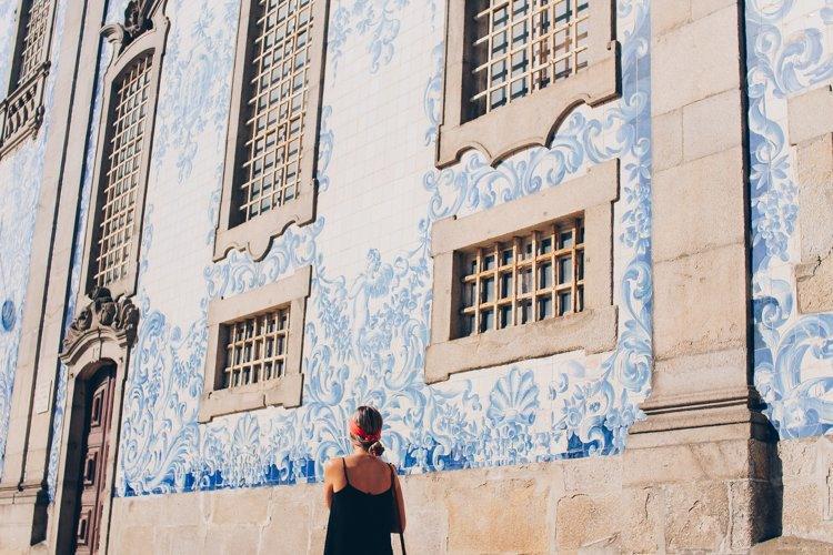 Azulejo Tiles at Igreja do Carmo - Things to do in Porto, Portugal