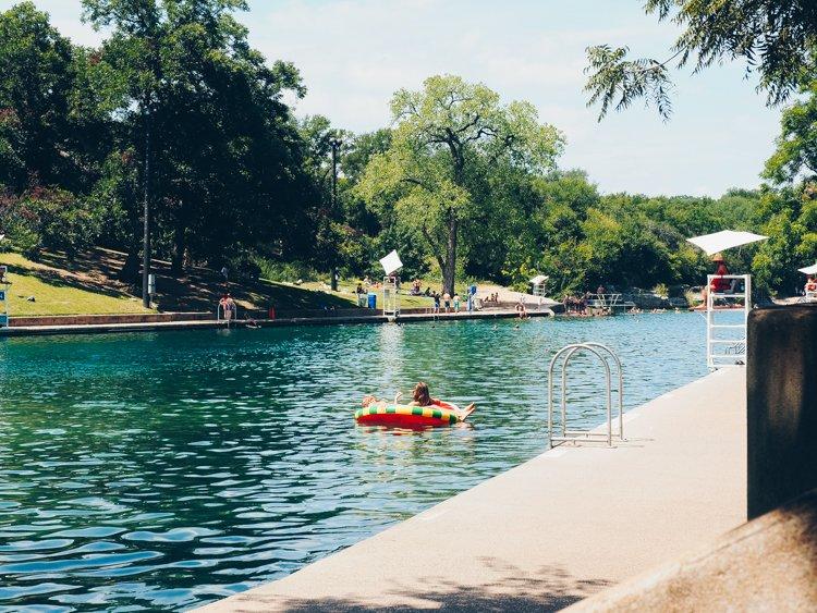 Barton Springs Pool - Things to do in Austin, Texas