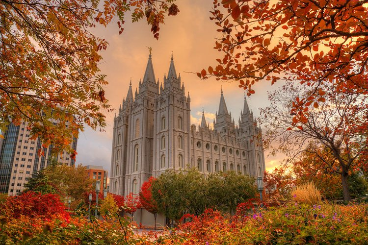 Best Places to Visit in the Fall - Salt Lake City, Utah