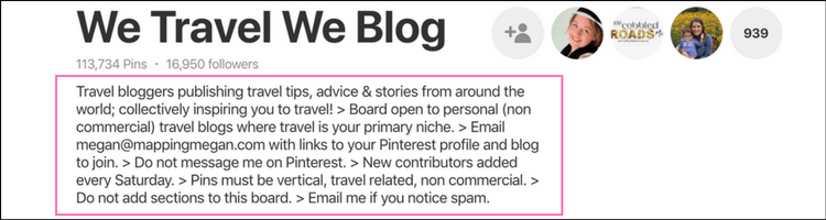 Increase blog traffic with Pinterest - Group Boards