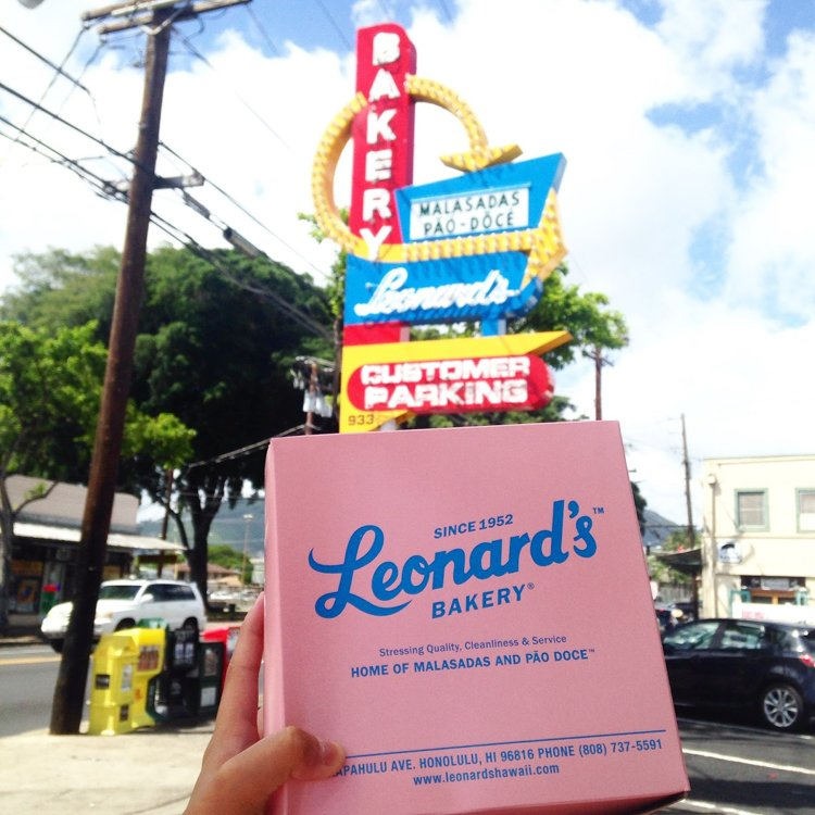 Hawaii Instagram Spots - Leonard's Bakery