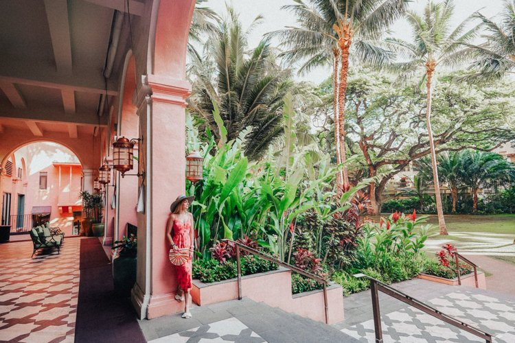 Hawaii Instagram Spots - The Royal Hawaiian