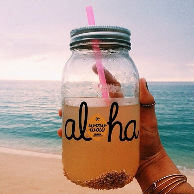 Hawaii Instagram Spots - Wow Wow Wow Hawaiian Lemonade