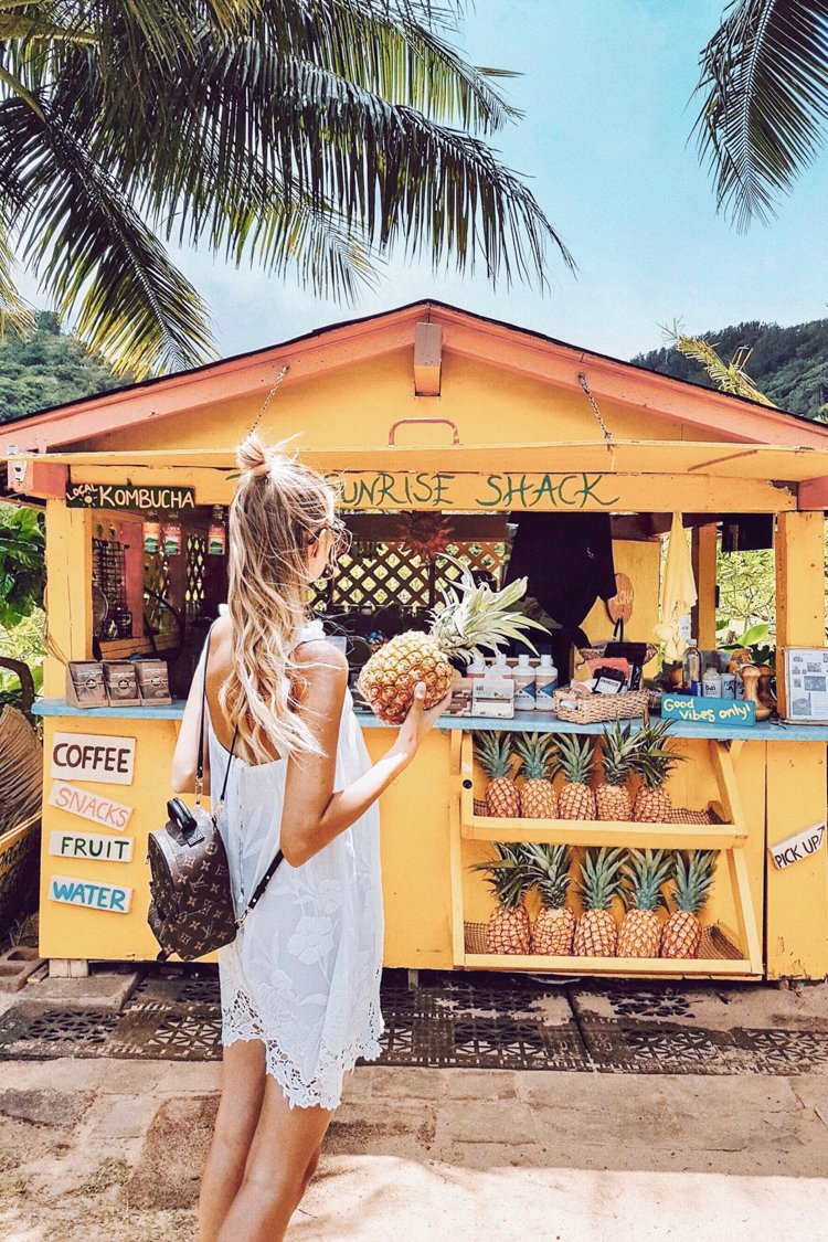 Hawaii Instagram Spots - Sunrise Shack