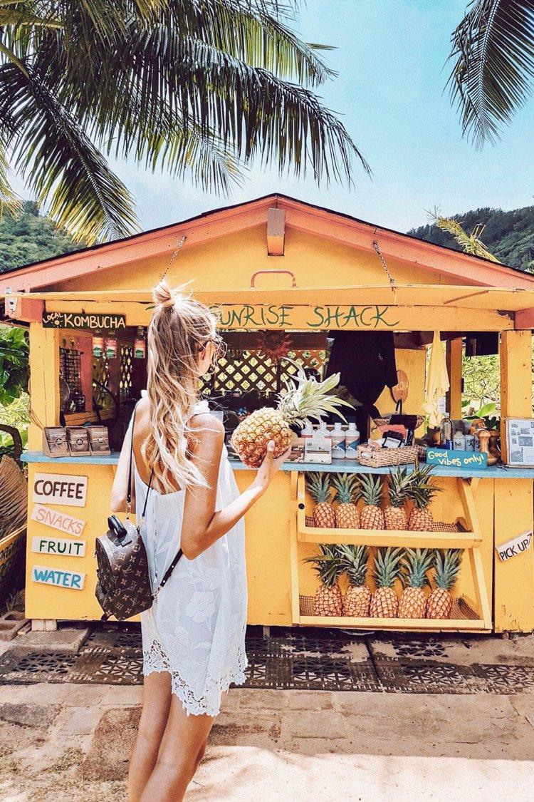 Hawaii Instagram Spots - Sunrise Shack