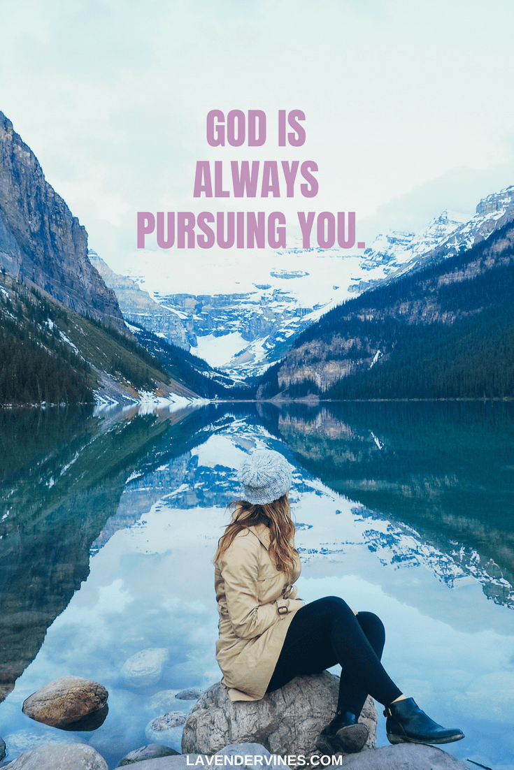 How to draw closer to God - GOD IS ALWAYS PURSUING YOU