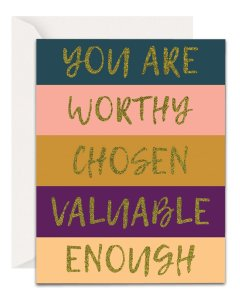 Christian Encouragement Cards - Lavender Vines - You Are