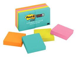 Top 10 Bible Study Tips - Colorful Sticky Notes
