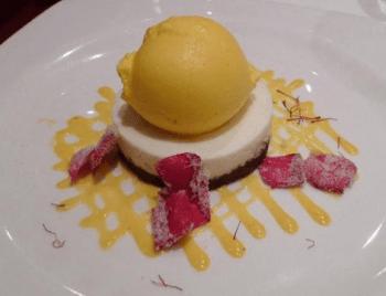 torta bianca reale le bistrot de venise