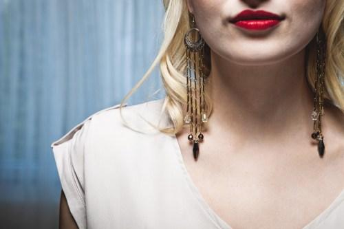 L'AVENIR // Davina Collection Shoulder Dusters