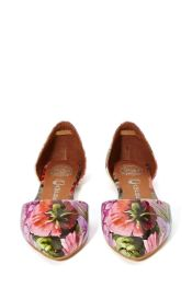 Jeffrey Campbell In Love Floral d'Orsay Flats