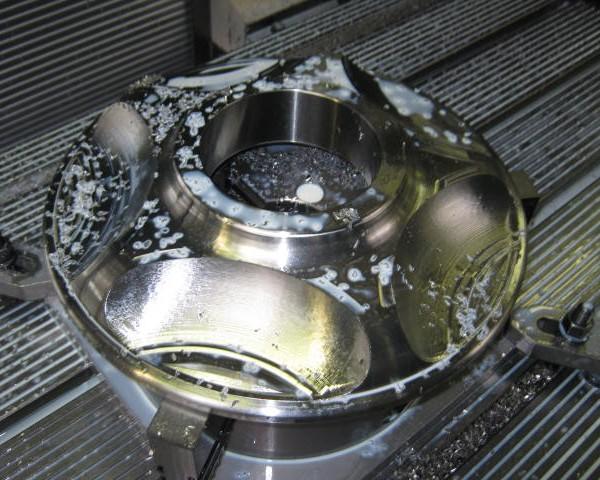 Vorm-frezen CNC