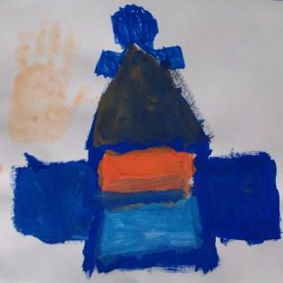 Zoe casa azul