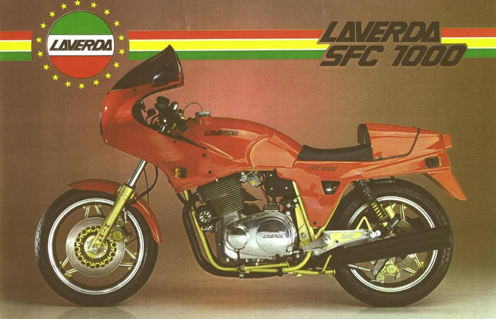 medium resolution of it s the corsa s engine a specific cosmetics and cycle part 300mm brake discs marzocchi fork m1r and a less weight the laverda 1000