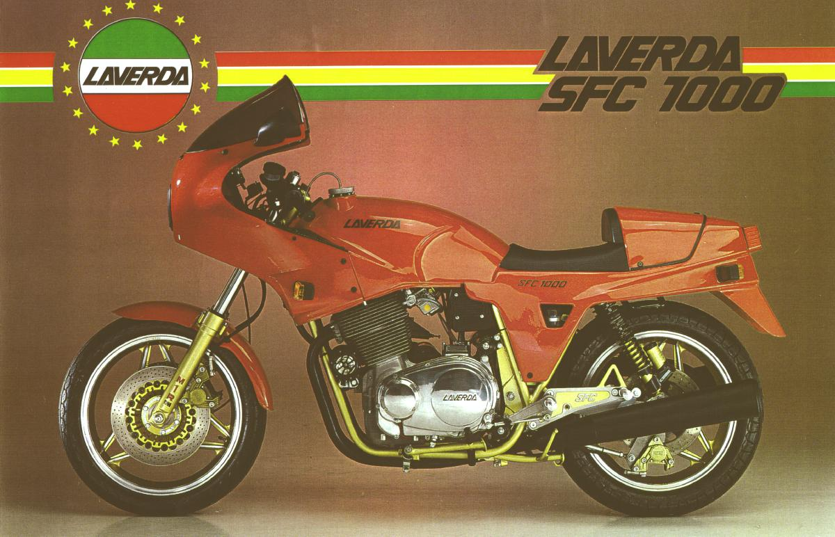 hight resolution of it s the corsa s engine a specific cosmetics and cycle part 300mm brake discs marzocchi fork m1r and a less weight the laverda 1000