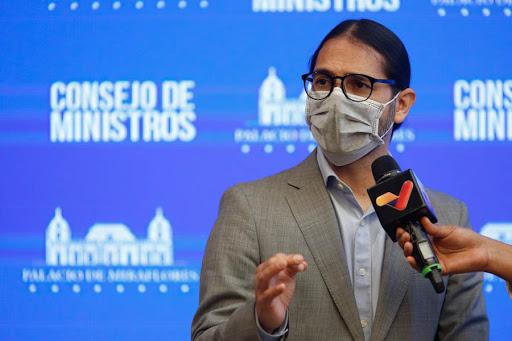 Covid-19 en Venezuela Freddy Náñez, Ministro de Comunicación balance Covid-19