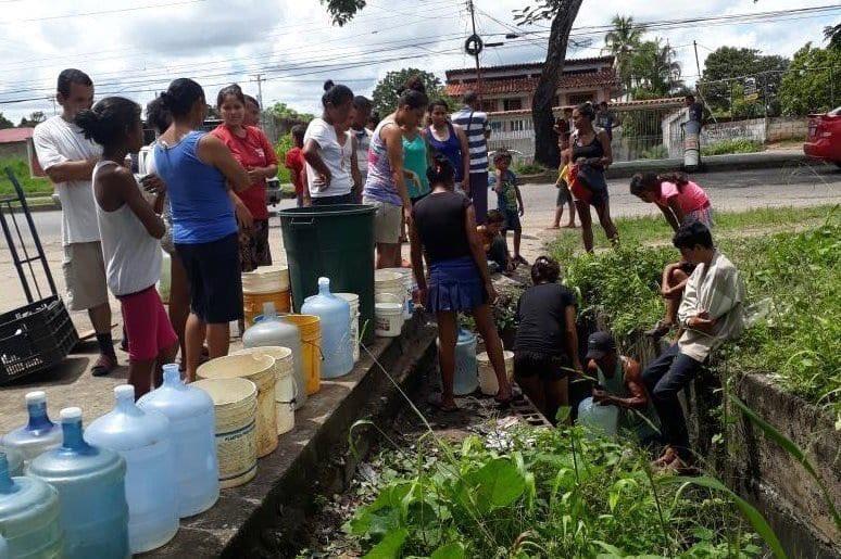 falta de agua en Maturín