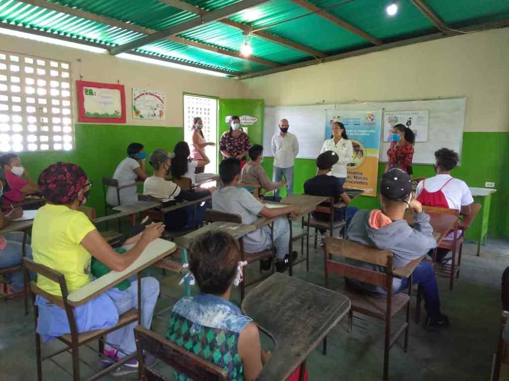 conversatorio embarazo precoz Fundación Regional Niño Simón