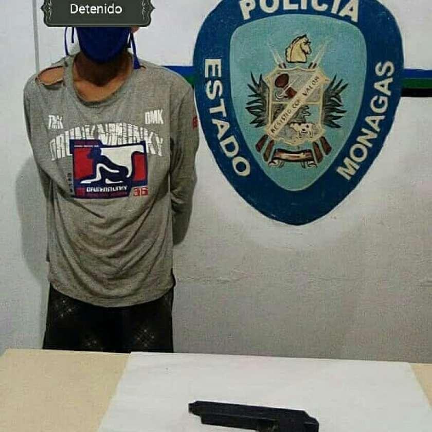 Dos hombres fueron capturados por Polimonagas en Temblador