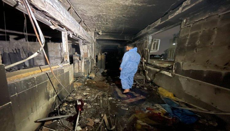 explosión en hospital de Bagdad