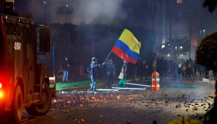 noche de ataques Bogotá