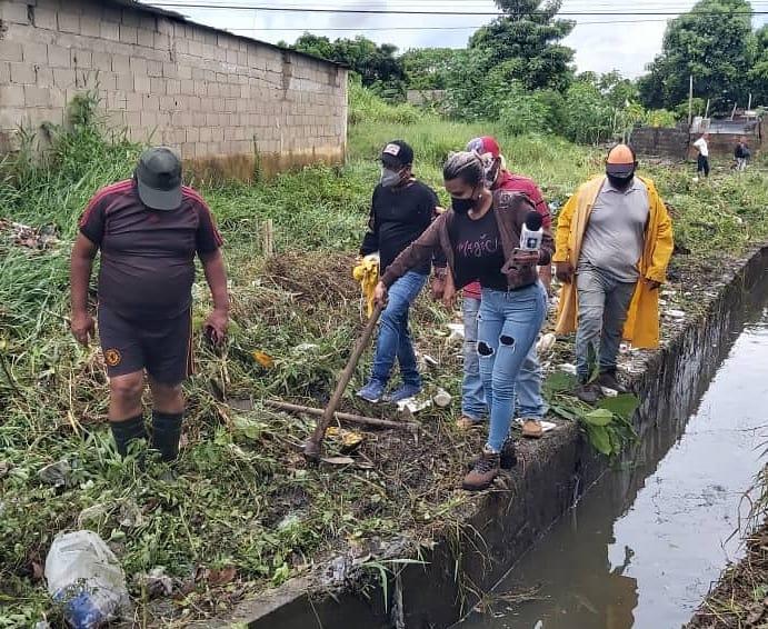 alcaldia de maturin inspecciona comunidades afectadas por las lluvias