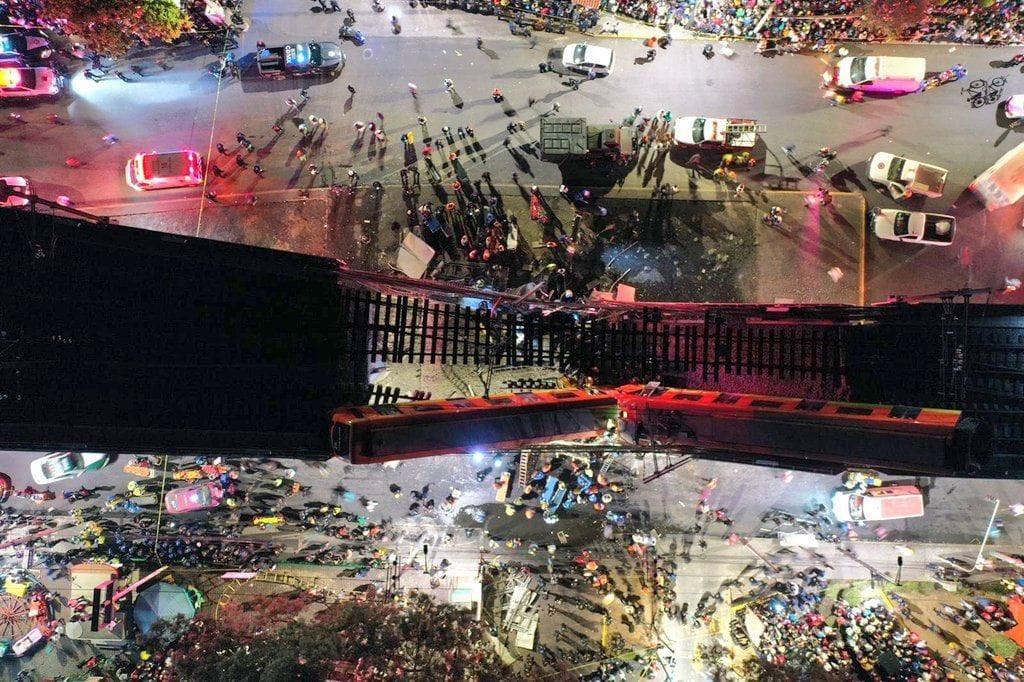 desplome de puente en el metro de ciudad de mexico deja al menos 23 muertos 2