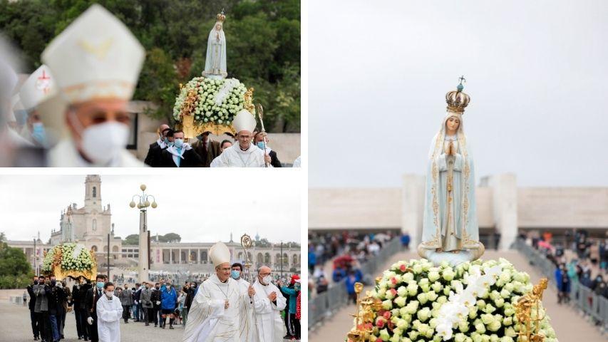 portugal muestra su devocion a la virgen de fatima 1
