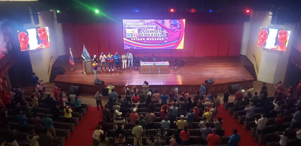 roberto messuti juramento al equipo politico de somos venezuela monagas 4