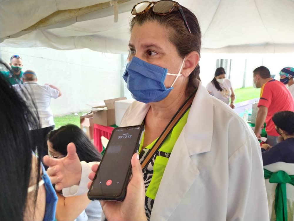 todo un exito jornada medica y de vacunacion organizada por farmadon y la drs laverdaddemonagas.com jenny ortiz