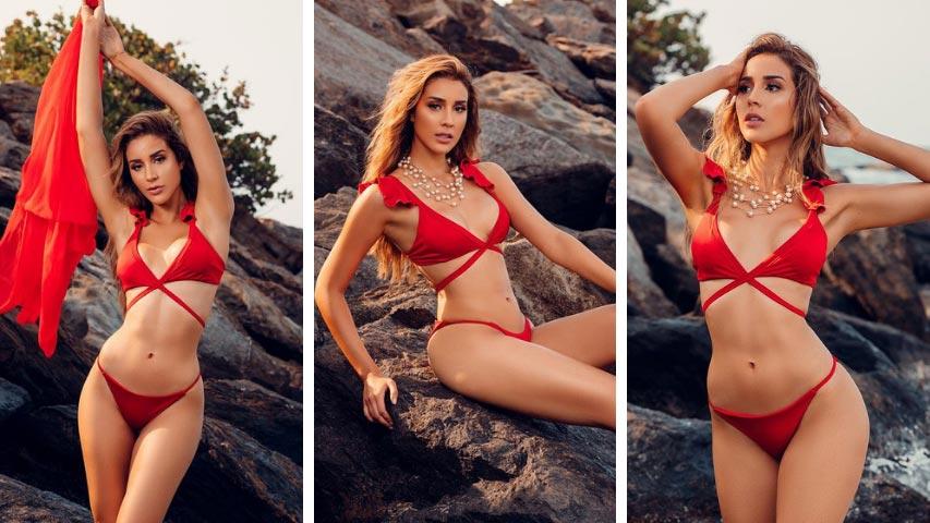 Como el Relámpago del Catatumbo desfilo Miss Venezuela