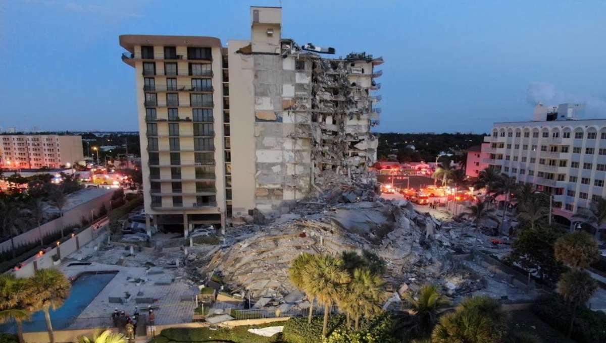 gobierno de eeuu declaro emergencia por desplome en miami laverdaddemonagas.com edificio miami