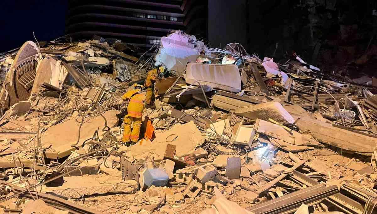 gobierno de eeuu declaro emergencia por desplome en miami laverdaddemonagas.com miami edificio