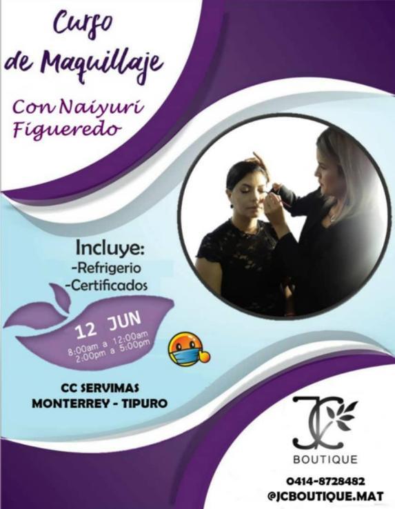 naiyuri figueredo te invita a curso para aprender a maquillarte laverdaddemonagas.com naiyuri flyer