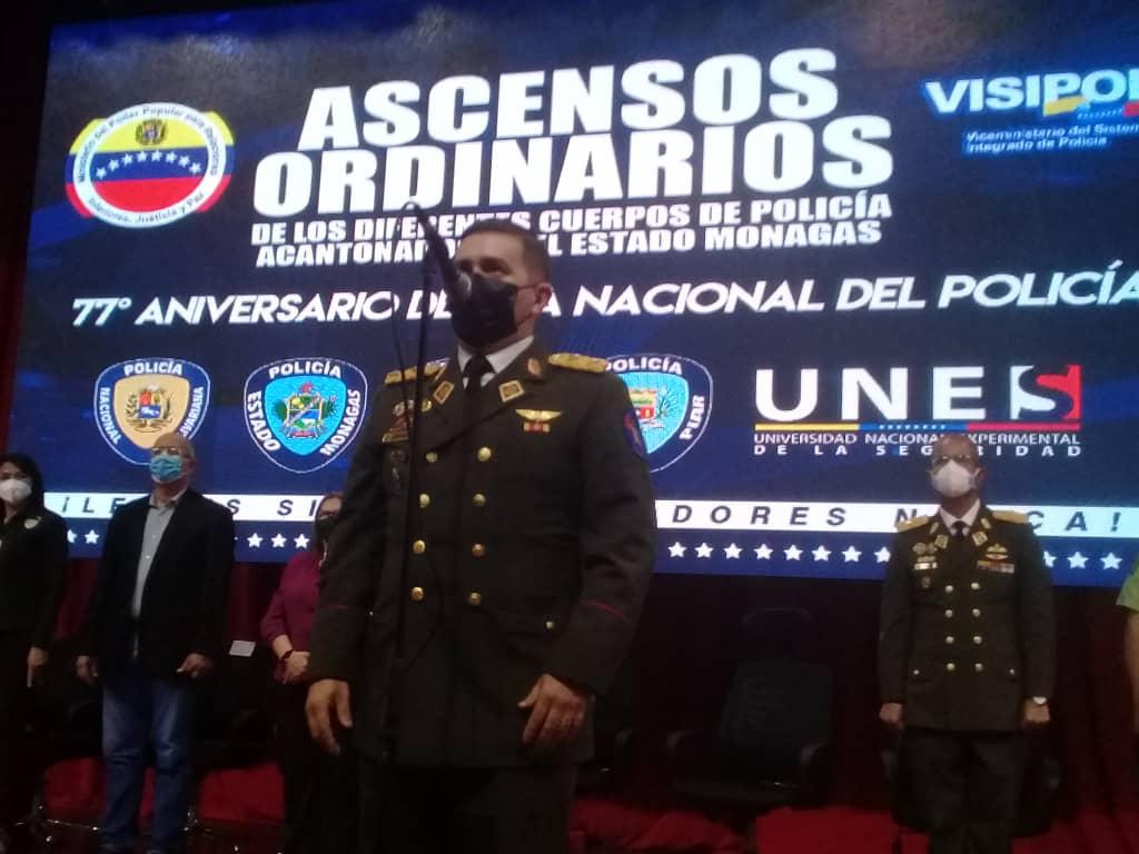 gobierno de monagas ascendio a mas de 150 oficiales policiales laverdaddemonagas.com ascensos4