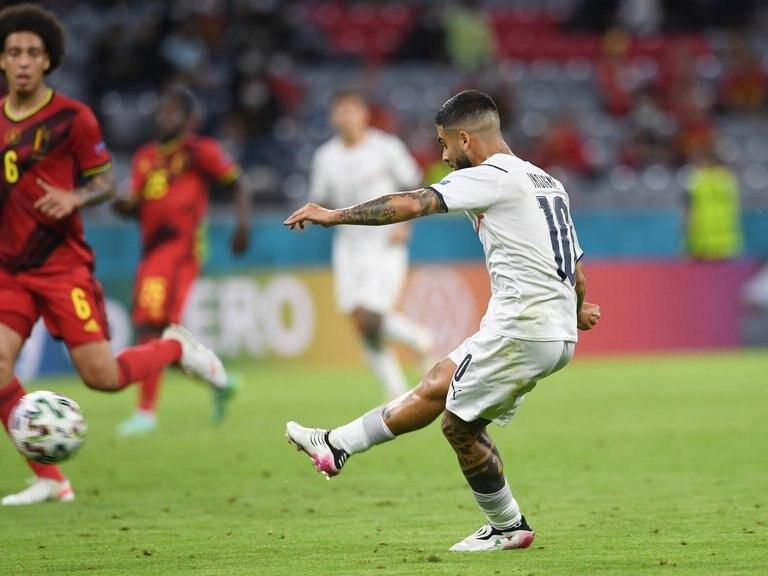 Italia derrotó a Bélgica y es semifinalista de la Eurocopa