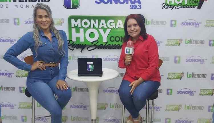 María Eugenia Cabello en el Programa Monagas Hoy.