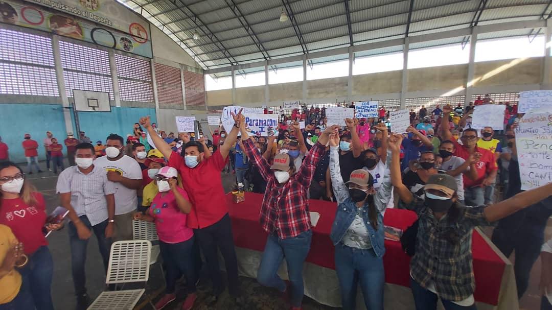 santaella en el rosillo vamos hacia la consolidacion del poder comunal laverdaddemonagas.com paramaconi