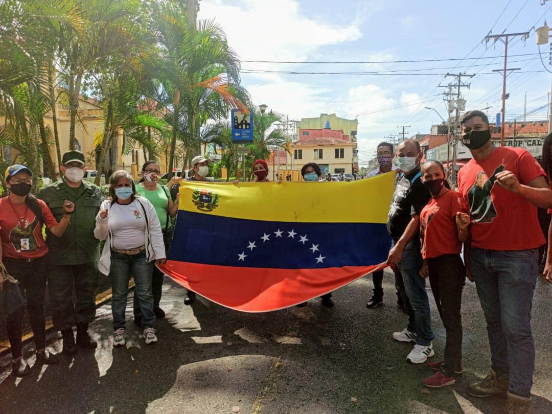 autoridades civiles y militares de monagas conmemoraron el dia de la bandera laverdaddemonagas.com bandera 2