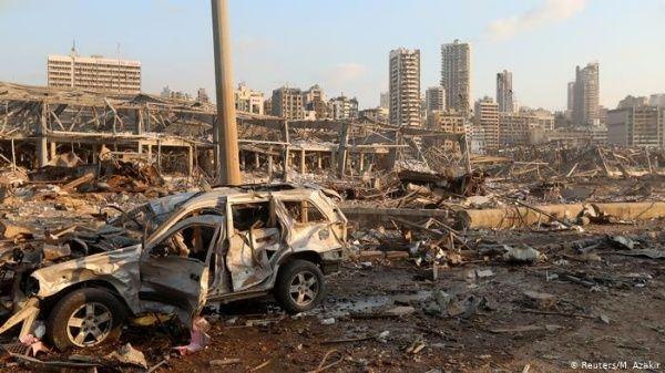 beirut demanda justicia y honra a sus victimas un ano despues de la explosion laverdaddemonagas.com beirut explosion 5