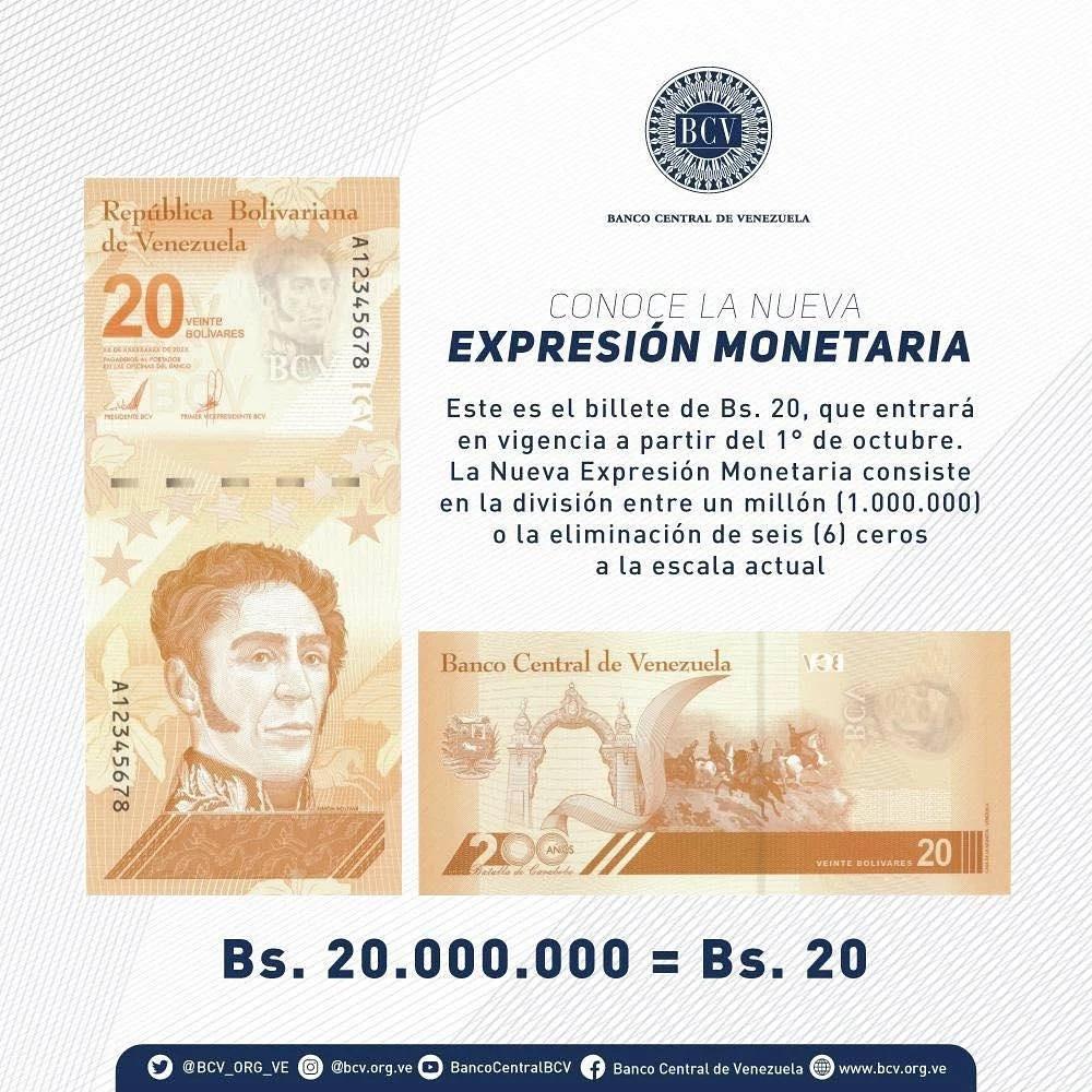 conoce los billetes del nuevo cono monetario laverdaddemonagas.com 229802599 250933186657212 1537941278250392443 n
