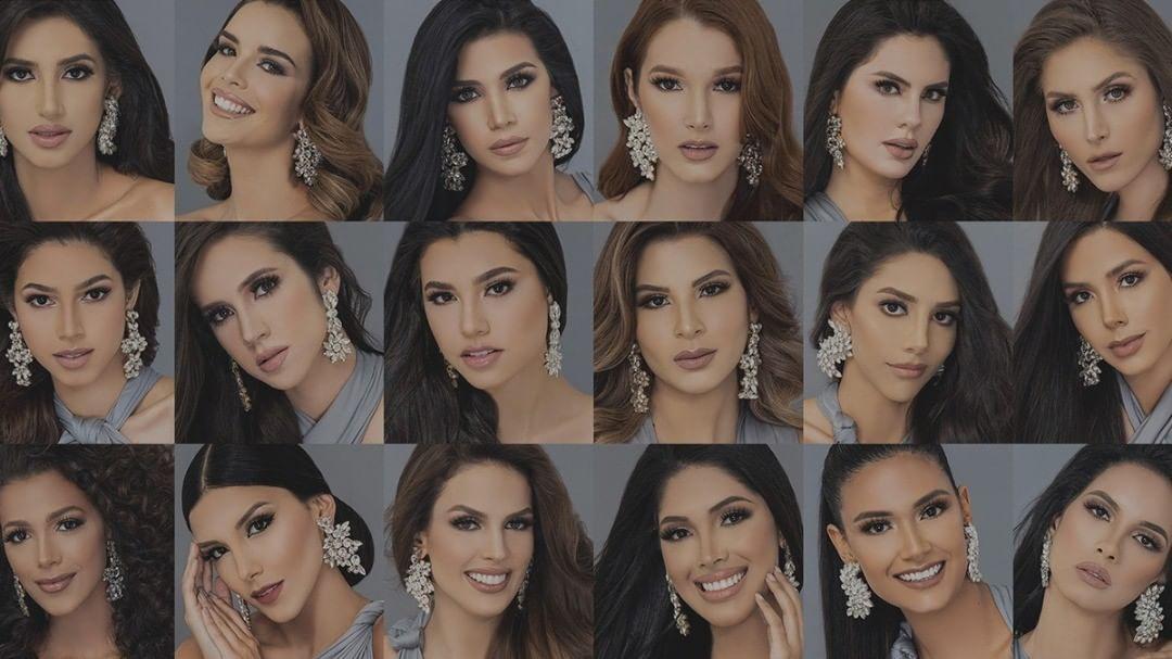 Conoce quiénes son las candidatas oficiales al Miss Venezuela 2021