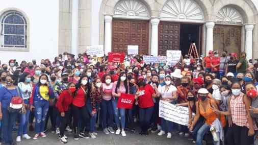 mujeres de monagas recorreran los 13 municipios en busca de la victoria perfecta laverdaddemonagas.com psusv mujeres 2