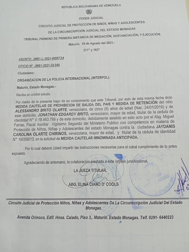 nino esta desaparecido luego que se lo llevaron a la fuerza del sector las garzas laverdaddemonagas.com whatsapp image 2021 08 26 at 3.55.58 pm